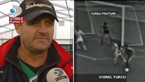 Fotbalistul Viorel Turcu merge din nou! VIDEO