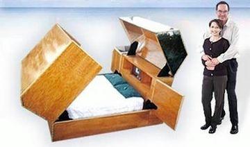 Topul celor mai ciudate paturi. Ai dormi in asa ceva? GALERIE FOTO