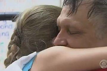 Povestea unei fetite care nu-si dorea altceva decat sa-si revada tatal. Fii martorul unei intalniri emotionante! VIDEO