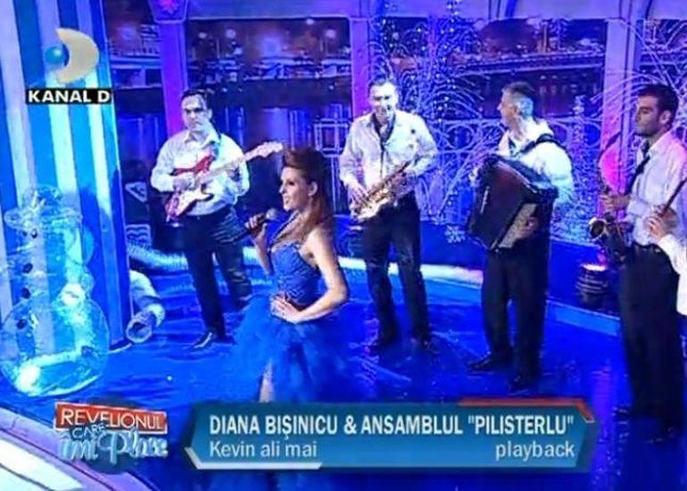 Diana Bisinicu canta muzica de petrecere. VIDEO