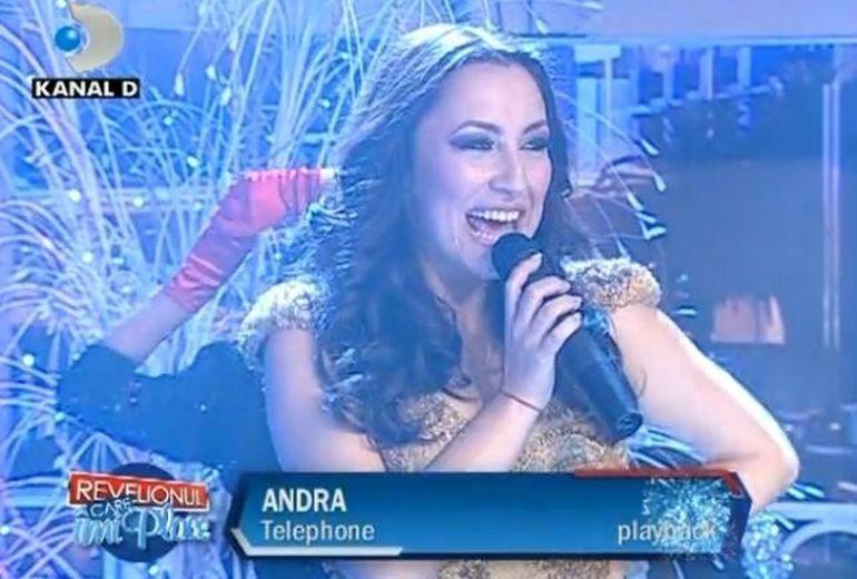 Andra este on the Telephone. ASCULTA!