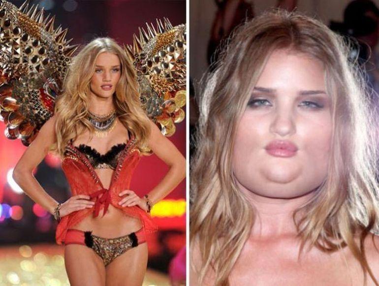 Ce s-ar intampla daca manechinele de la Victoria Secret s-ar ingrasa 50 de kg? Vezi GALERIA FOTO