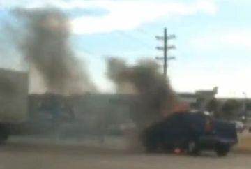 Mos Craciun chiar exista! A salvat un om dintr-un incendiu VIDEO