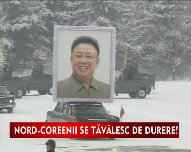 Sute de mii de oameni si-au luat ramas bun de la liderul nord-corean Kim Jong-il VIDEO