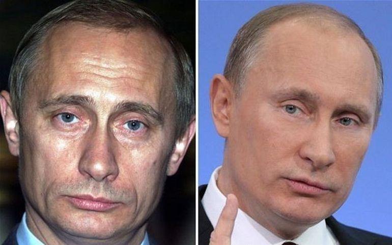 Vladimir Putin dependent de botox? Vezi GALERIE FOTO