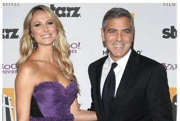 George Clooney si-a imbogatit iubita