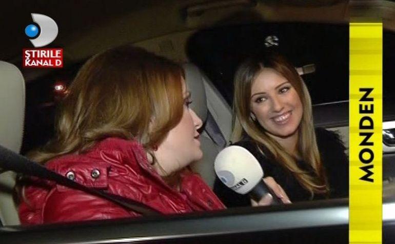 Daina Anghel, la volanul unui bolid. Vezi cum se descurca! VIDEO