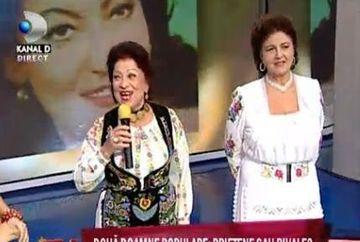"Maria Ciobanu despre Irina Loghin: ""NU am fost niciodata rivale!"""