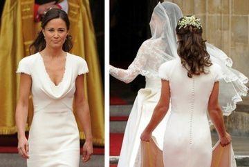 Vrei rochia originala care a facut-o celebra pe Pippa Middleton? Afla cat costa