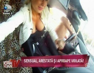 Simona Sensual a fost speriata de un barbat care s-a dezbracat in fata ei. Vezi in FOTO!