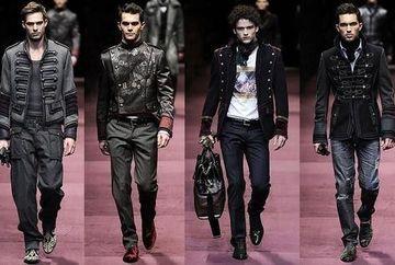 Stilul militar, culoarea gri si materialele luxoase fac parte din garderoba oricarui barbat trendy. Vezi ce se poarta sezonul asta!