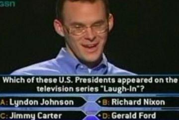 """Cel mai tare moment din istoria show-ului """"Vrei sa fii milionar?"""". Uite cum s-a castigat primul milion de dolari! VIDEO"""