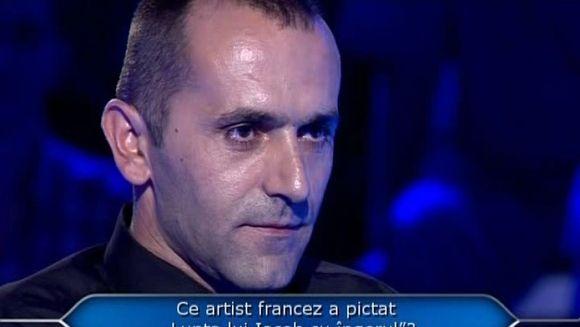 """Marius Vintilescu a câştigat 25 000 de lei aseară, la """"Vrei să fii milionar?"""""""