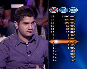"""Studentul la Medicină Tudor Vinţ, concurent la cea de-a zecea ediţie a emisiunii-concurs """"Vrei să fii milionar?"""" de la Kanal D, îşi doreşte să cheltuiască milionul cu """"fetele"""""""