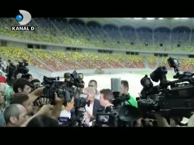 Dezvăluiri în exclusivitate despre Naţional Arena, la Ştirile Kanal D!