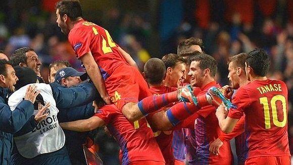 Steaua S-A CALIFICAT in grupele Ligii Campionilor dupa 2-2 cu Legia Varsovia