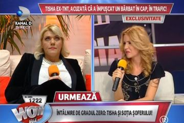 Tisha, FATA IN FATA cu sotia barbatului pe care l-a impuscat in cap, in trafic! A vorbit IN PREMIERA despre incidentul pe care l-a provocat in Bucuresti