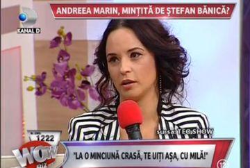 Andreea Marin face DECLARATII INCENDIARE! A fost BATUTA de Stefan Banica Jr?