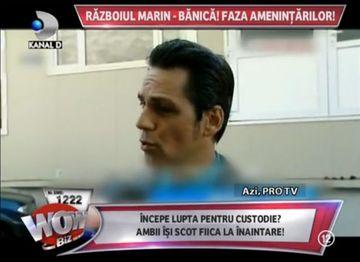 RAZBOI fara precedent! Schimburi de replici DURE intre Andreea Marin si Stefan Banica Jr. Incepe lupta pentru custodie?
