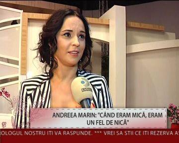 "Amintiri din copilaria Andreei Marin: ""Furam cirese de la baba Ioana"""