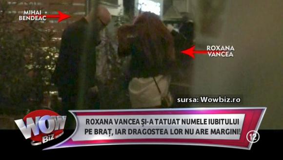Este OFICIAL! Roxana Vancea si Mihai Bendeac formeaza un cuplu