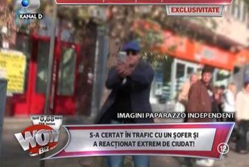 IMAGINI TULBURATOARE cu Serban Huidu! Si-a pus viata in pericol urmarind un paparazzo