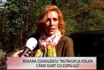 """Roxana Ciuhulescu: """"Cand sunt la volan sunt barbat, dar ma abtin cand este fetita"""". Vezi la ce se refera!"""