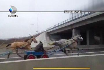 """Cum au reusit doi barbati sa faca """"liniuta"""" din caruta pe Autostrada Soarelui!"""