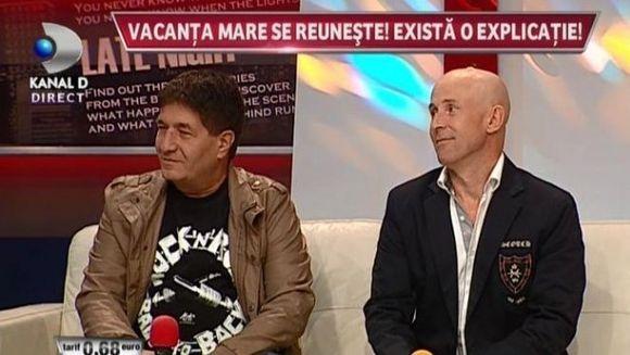"""Vacanta mare s-a REUNIT! Mugur Mihaescu: """"Vom avea spectacol pe 8 decembrie la Sala Palatului"""""""