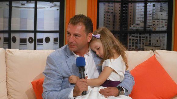 Fetita lui Christian Sabbagh adora povestile pentru copii cu… spioni!