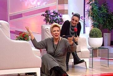 Imagini WOW la TEO Show! Carmen Tanase s-a ridicat de pe canapea si a plecat din platou!