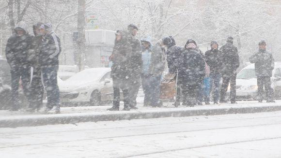 Avertizare METEO emisa de ANM: COD GALBEN de ninsori incepand de luni