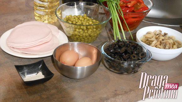 Salata italienesca cu orez