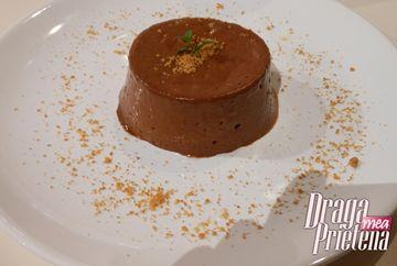Mousse de ciocolata cu infuzie de menta