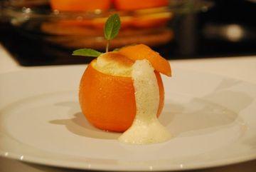 Sufleu de portocale in coaja