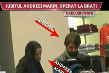 Andreea Marin si Tuncay, surprinsi de paparazzi!