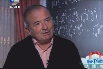 Ioan Ursu, profesorul de matematica, care dupa 30 de ani de invatamant preda doar pe internet