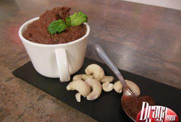 Mousse de ciocolata vegan