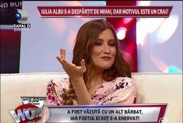 """Iulia Albu, despre fostul sot: """"Mihai e agresiv si orgolios! Ma jigneste in mesaje, apoi imi spune ca ma iubeste"""""""