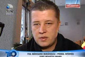 """Fiul Marioarei Murarescu la TEO SHOW: """"Nu ma intereseaza ce scriu ziarele despre mine!"""""""
