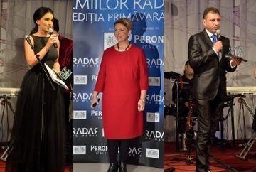 Stirile Kanal D, Teo Trandafir si Adelina Pestritu au fost premiate la Gala Radar de Media