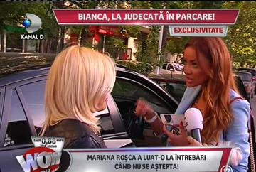 Intalnire de gradul zero intre Bianca si Mariana Rosca! Vezi daca cele doua au dat-o la pace sau nu