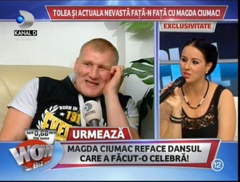"Replici INCEDIARE intre Magda si Tolea Ciumac! ""Stai ca un boschetar betiv"" - ""Cand erai minora umblai pe sub poduri"""