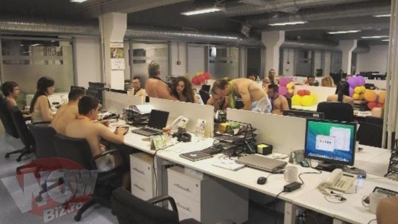 Angajati in scutece la serviciu! Se intampla din toamna, in Discote-k, la Kanal D! Vezi VIDEO EXCLUSIV
