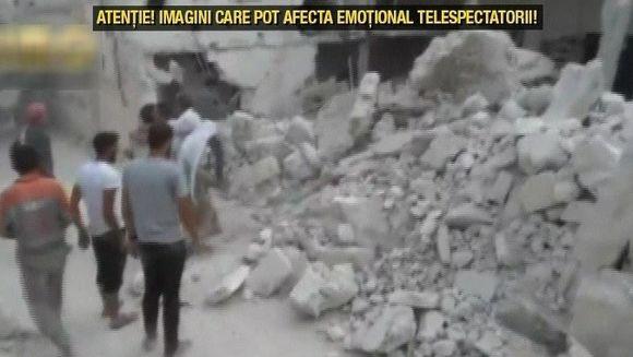 Apar imagini noi din Siria, dupa bombardamentele Rusiei. Ce declaratii au dat americanii despre aceste atacuri!