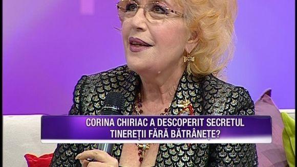 Corina Chiriac arata demential la 66 de ani! Cantareata a dezvaluit daca si-a facut sau nu operatii estetice
