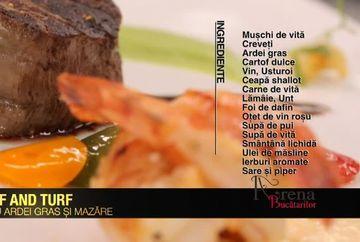 Surf and turf cu ardei gras si mazare - o reteta care desavarseste carnea rosie