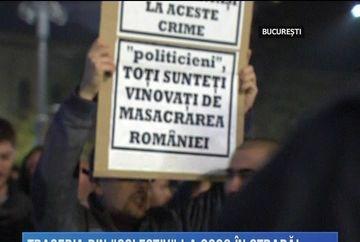 Romania si-a strigat revolta dupa tragedia din Clubul Colectiv! 25.000 de bucuresteni au protestat in Capitala si alte mii in mai multe orase din tara!