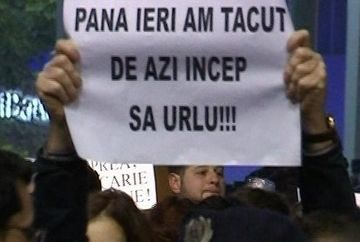 Romania a avut, aseara, o singura voce si o singura dorinta: demisia. Un cuvant simplu, care n-a mai putut fi ignorat