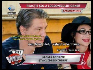"""Reactie halucinanta a logodnicului Ioanei Popescu dupa ce a aflat ca aceasta are o relatie cu Firicel: """"Sincer sa fiu, mie mi-e putin mila de el"""""""